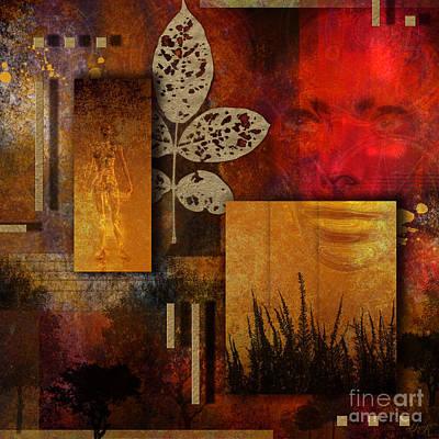 Web Of Life Digital Art - Rift by Nola Lee Kelsey