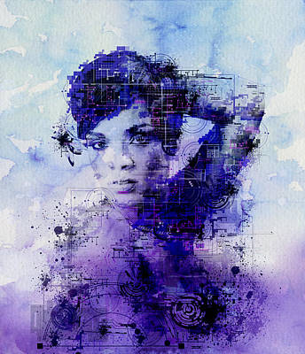 Rihanna 2 Print by Bekim Art