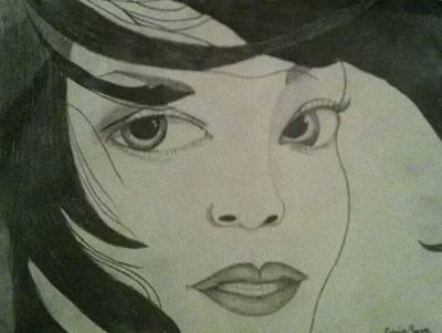 Rihanna Drawing - Rihanna by Cydee'je Payne