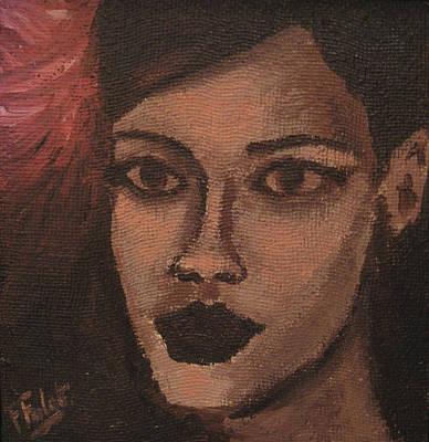 Rihanna Painting - Rihanna by Francois Falet