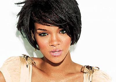 Rihanna Photograph - Rihanna by Kathy Baccari
