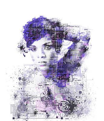 Rihanna Painting - Rihanna by Bekim Art