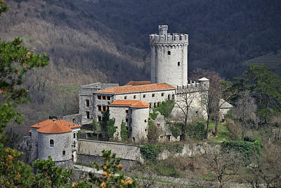 Castle Photograph - Rihemberk Castle by Ivan Slosar