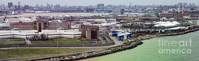Rikers Island Jail - New York City Department Of Correction Print by David Oppenheimer