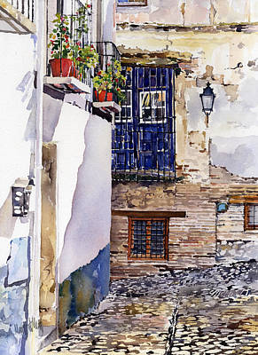 Rincon Del Albaicin Original by Margaret Merry