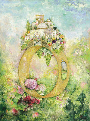 Synagogue Painting - Ring And Rose by Michoel Muchnik
