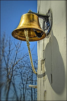 Copper Photograph - Ring My Bell by LeeAnn McLaneGoetz McLaneGoetzStudioLLCcom