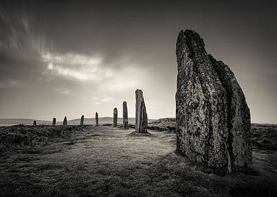 Ring Of Brodgar Print by Dave Bowman