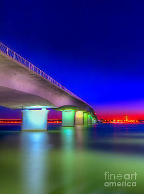 Habor Photograph - Ringling Bridge by Marvin Spates