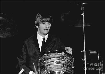 Ringo Starr Photograph - Ringo Starr, Beatles Concert, 1964 by Larry Mulvehill