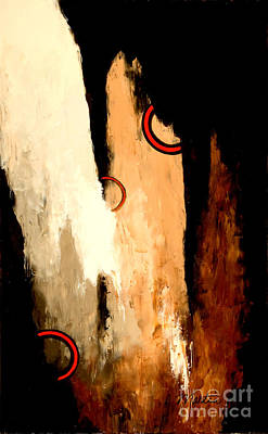 Cavern Painting - Rings Of Hope by Larry Martin