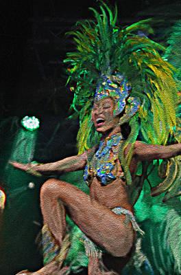 Del Rio Digital Art - Rio Dancer I A by Axko Color de paraiso