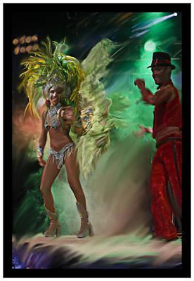 Del Rio Digital Art - Rio Dancer II B  by Axko Color de paraiso