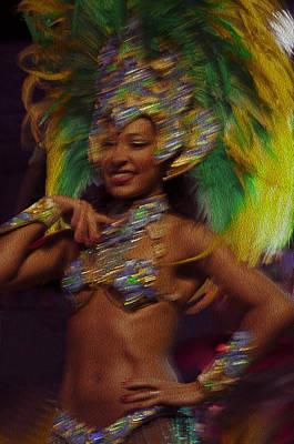 Del Rio Digital Art - Rio Dancer IIi A by Axko Color de paraiso