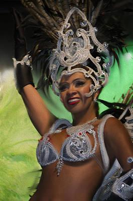 Del Rio Digital Art - Rio Dancer Iv A by Axko Color de paraiso