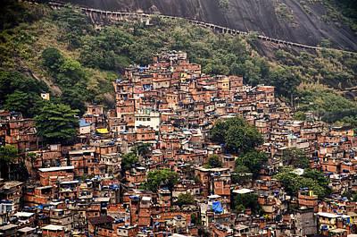 Rio De Janeiro Brazil - Favela Print by Jon Berghoff