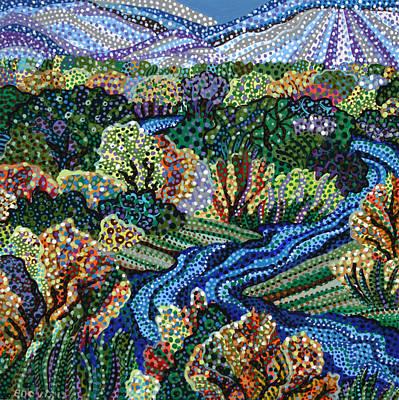 Grande Painting - Rio Grande by Erika Pochybova