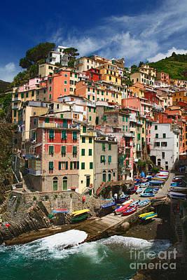Italy Photograph - Rio Maggiore Marina by Inge Johnsson