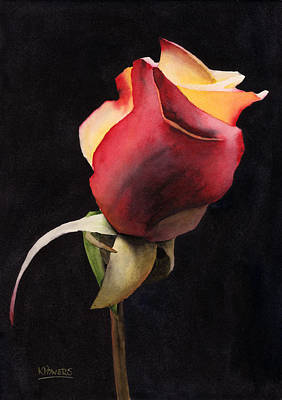 Rosebud Painting - Rio Samba Revisited by Ken Powers