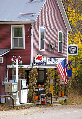 Vermont Country Store Photograph - Ripton Country Store by Charles Harden