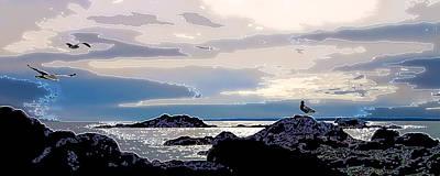 Coastal Maine Photograph - Rising Tide by Bill Caldwell -        ABeautifulSky Photography