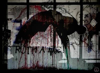 Girl Digital Art - Rising Up From Misery by Gun Legler