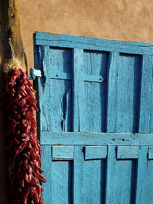 Ristras In Taos Print by Gia Marie Houck