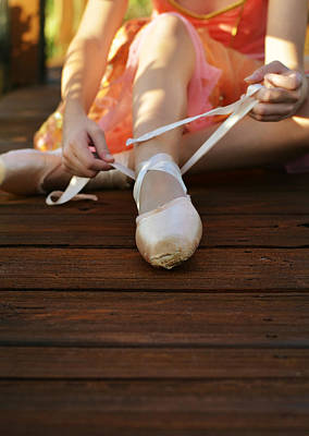 Child Ballerina Photograph - Rituals by Laura Fasulo