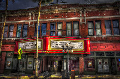 Ritz Ybor Theater Print by Marvin Spates