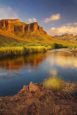 Peter James Nature Photograph - River Days by Peter Coskun