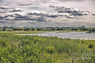 River Forelands Print by Patricia Hofmeester