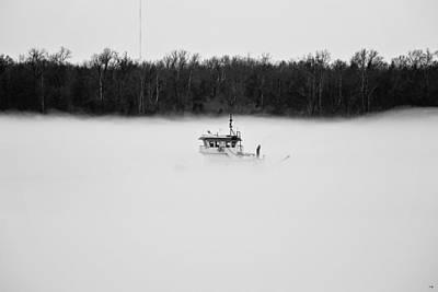 Black Commerce Photograph - River Of Fog by Scott Pellegrin