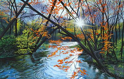 River Of Joy Original by Lynn Hansen