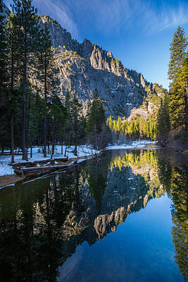 River Reflections Print by Mike Lee