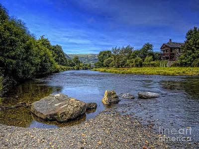 River Rocks Print by Darren Wilkes