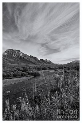 River Serenity Print by Priska Wettstein