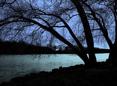Photograph - River View by Claude Oesterreicher