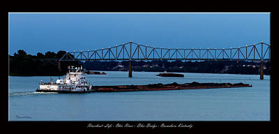 Daviess County Photograph - Riverboat Life by David Lester