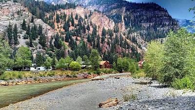 River Rocks Photograph - River's Edge by T Cole