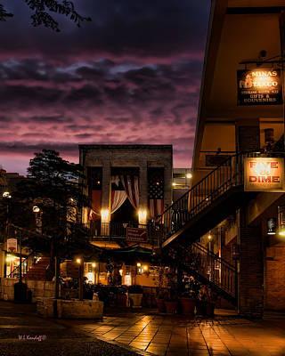 Riverwalk Photograph - Riverwalk Sky by Wayne Kondoff