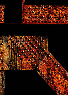 Shadow Photograph - Rivets Number Two by Bob Orsillo