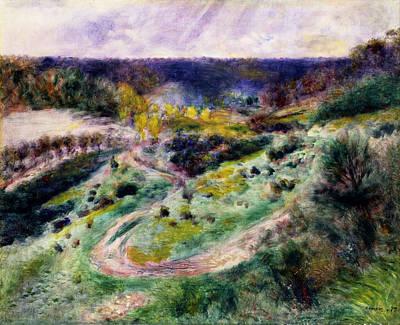 Pierre-auguste Renoir Painting - Road At Wargemont by Pierre-Auguste Renoir
