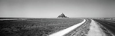Road Passing Through A Landscape, Mont Print by Panoramic Images
