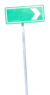 Directional Signage Photograph - Road Sign by Jorgo Photography - Wall Art Gallery