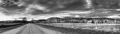 Road Through Port Oneida Print by Twenty Two North Photography