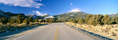 Road To Great Basin National Park Print by Panoramic Images