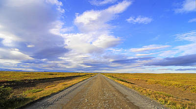 Landscape Photograph - Road To Infinity by Claudio Bacinello