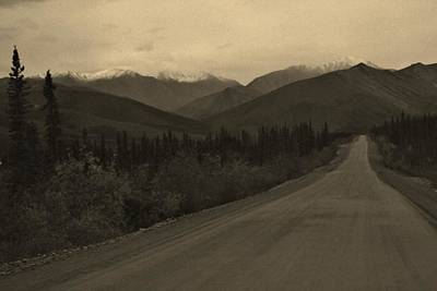 Road To Northern Darkness Print by David Broome