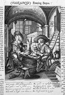 Roaring Boyes Print by British Library