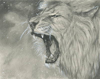 Roaring Lion Original by Raquel Ventura